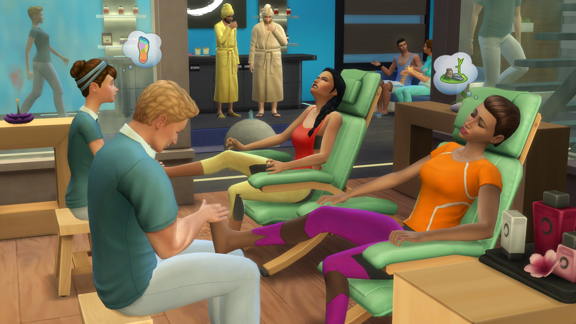 Salon spa | Simspedia | Fandom