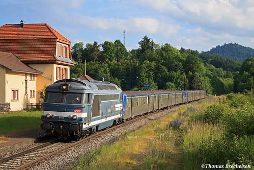 BB 67513 et RRR 303 & 231 sur le W Saales - Rothau; Bourg Bruche 24/06/2015