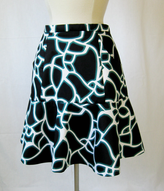 Alameda skirt on form