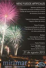 Fuegos artificiales 2015