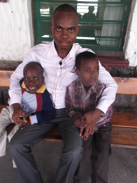 Uncle Hemed with Kevin & Lawrence