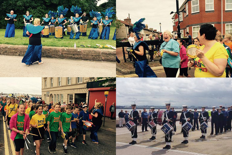 Photos from the 'Love New Brighton Parade' Our Big Gig celebration