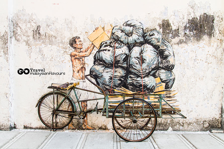 Ipoh Wall Art Murals by Ernest Zacharevic Ipoh Old Town