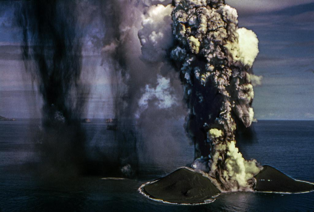 Burning Ocean (Surtsey Island) - Iceland