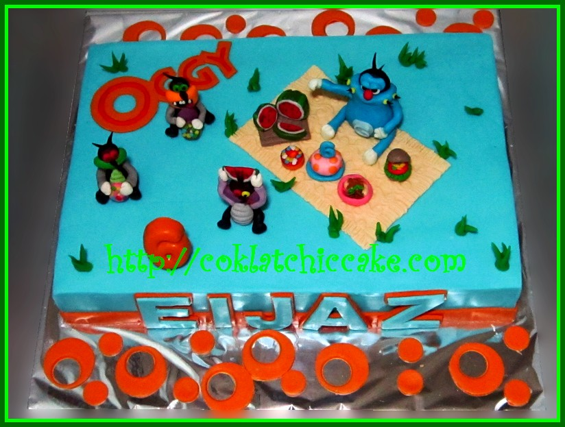 Cake Oggy and the Cockraches