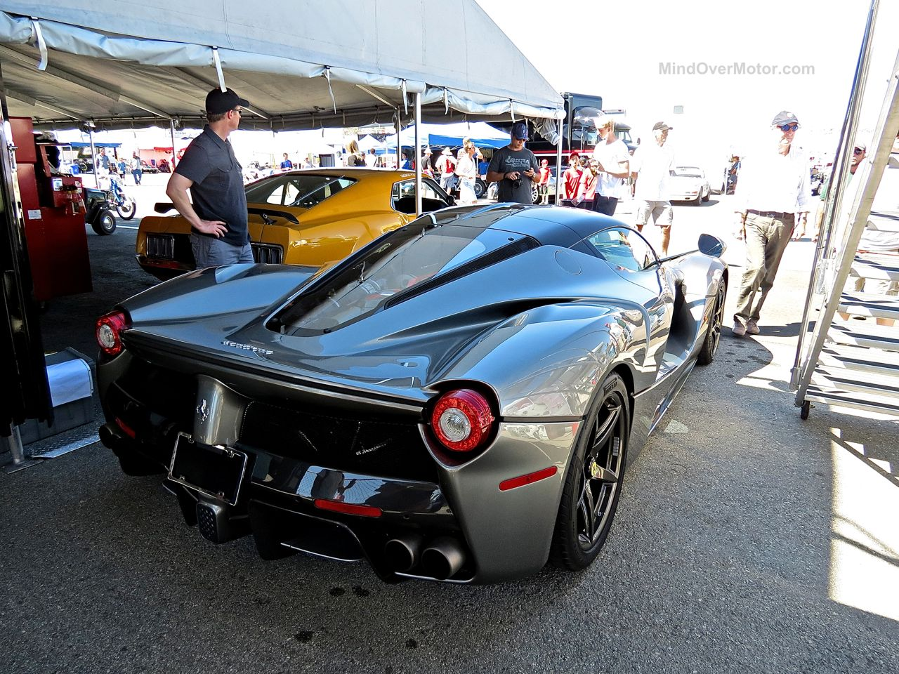 LaFerrari at Laguna Seca 5