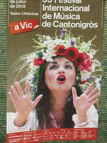 Cantonigros  2015