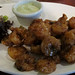 Fried rock shrimp with balsamic chili sauce