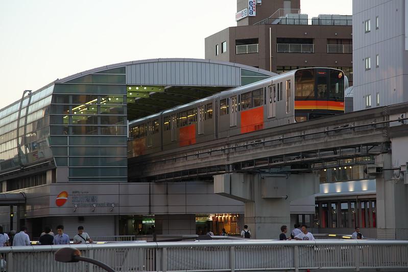 Tokyo Train Story 多摩モノレール 2015年8月5日