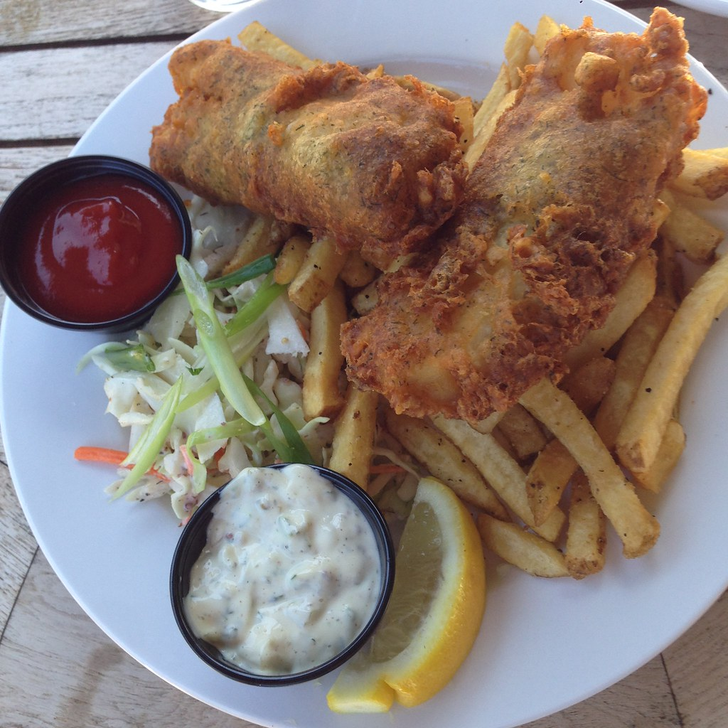 Beer-battered Cod Fish & Chips