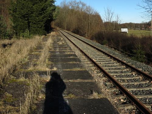 da fährt kein Zug mehr hin...