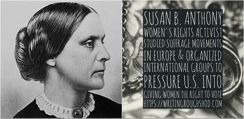 SUSAN B. ANTHONY #100travelHERS