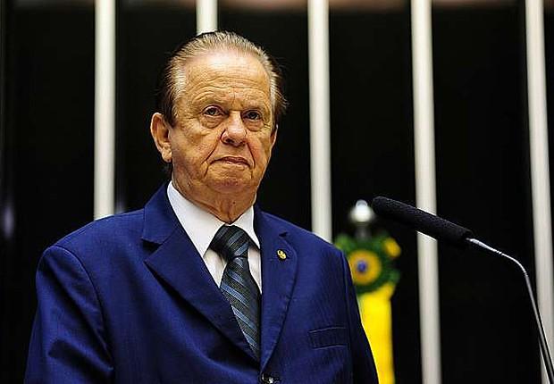 Deputado Mauro Lopes (PMDB-MG), fala na tribuna da Câmara - Créditos: Arquivo/ Agência Brasil