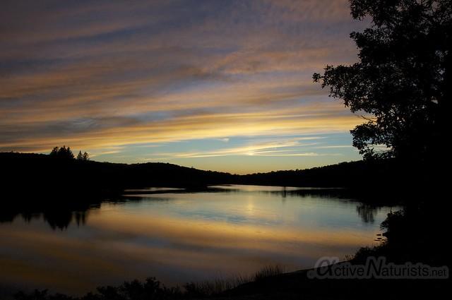 sunset view 0000 Harriman State Park, New York, USA