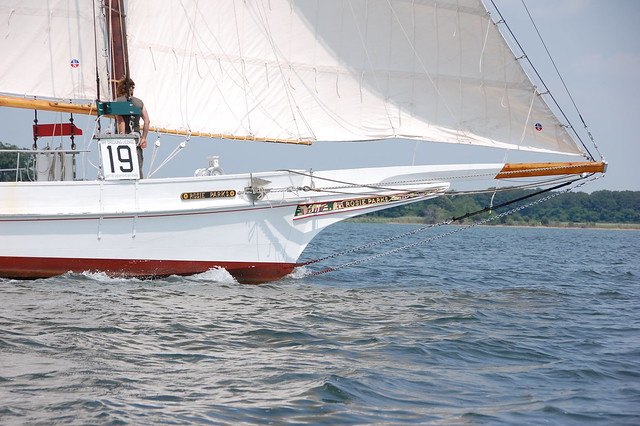Skipjack Rosie Parks sails again