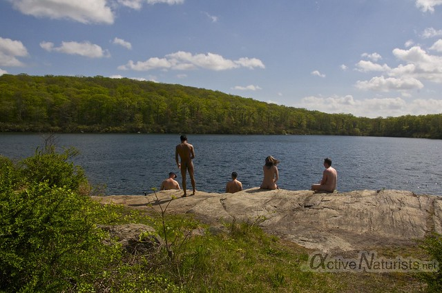 naturist 0063 Harriman State Park, New York, USA