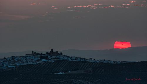 Última puesta de Sol (de esta Primavera)