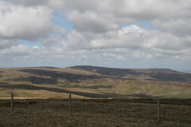 View from Great Shunner Fell
