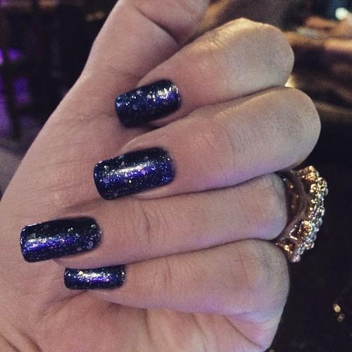 Seguindo a linha azul.. Esmalte  DNA! #CordaSemana #Nails #Unhas #AmoEsmaltes #Eu