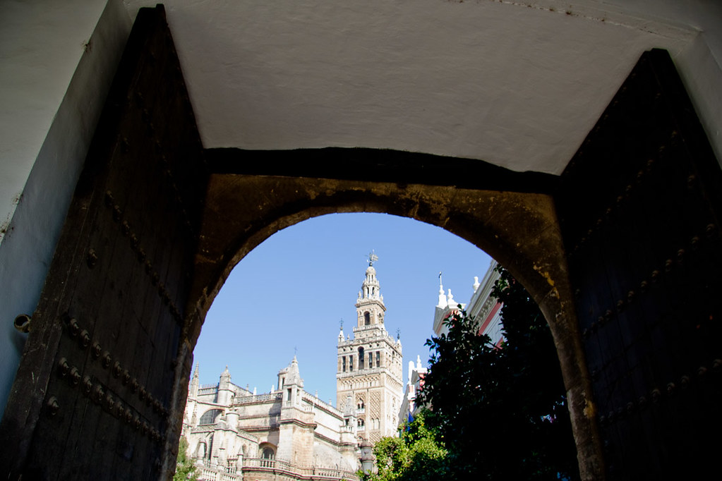 Cathedral of Seville from a distance