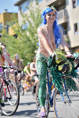 Fremont Summer Solstice Parade Cyclist 2015 (530)
