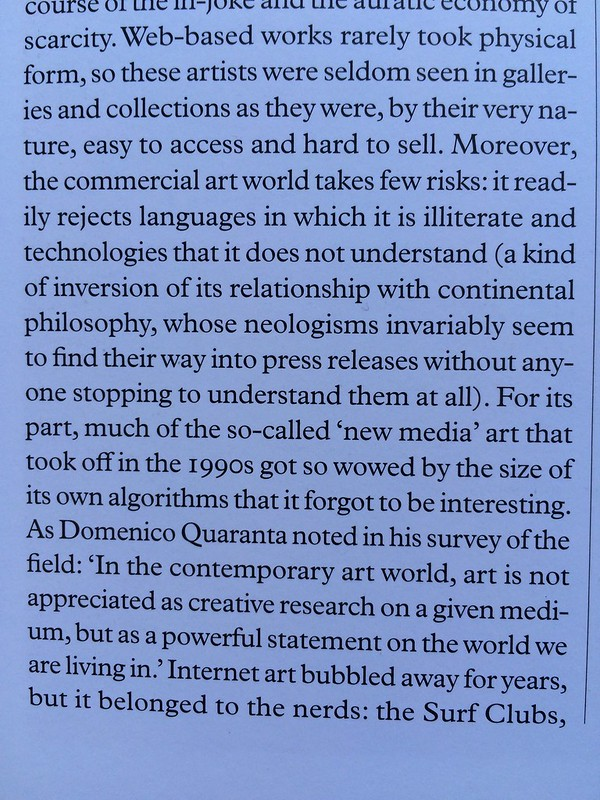 """""""it readily rejects languages in which it is illiterate and technologies that it does not understand"""