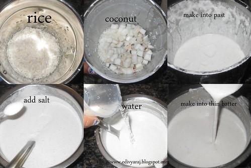 coconut dosa