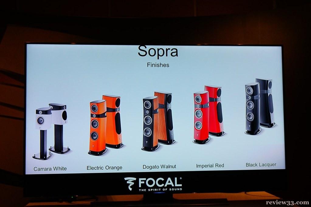 Focal Sopra Presentation @ 2015 Hong Kong High-End Audio Video Show