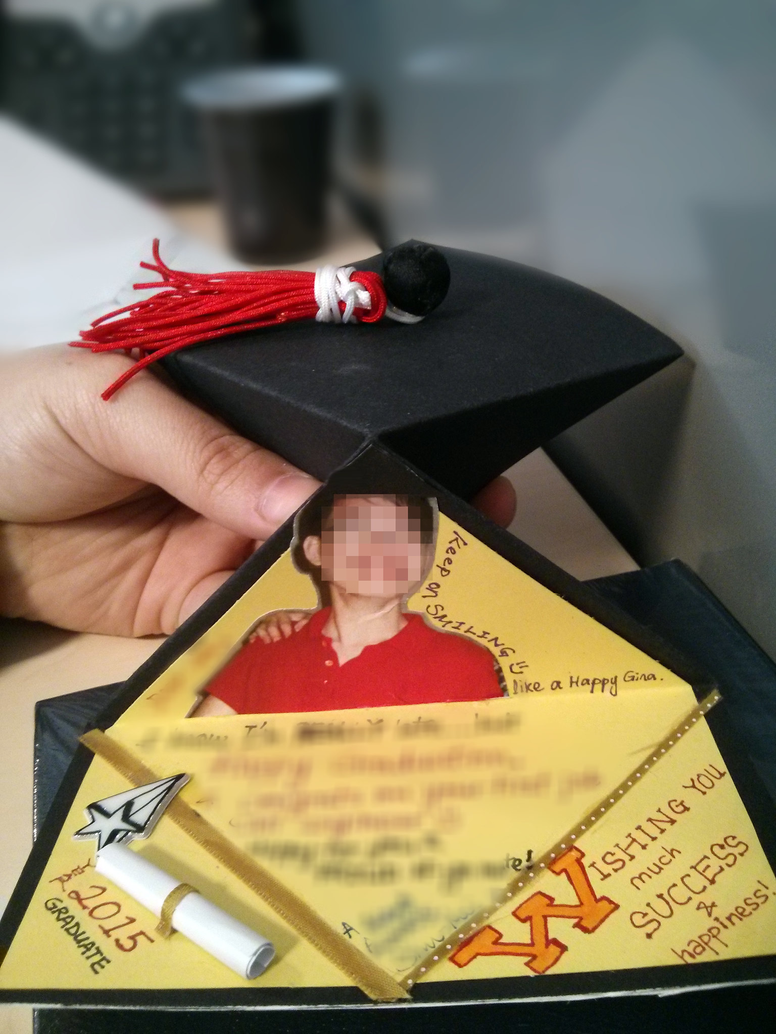 Diy graduation card ideas hums of sum graduation cap spring card publicscrutiny Choice Image