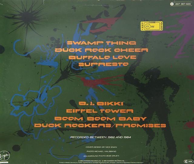 MALCOLM McLAREN Swamp Thing 80s New Wave LP - Vinyl Records ...