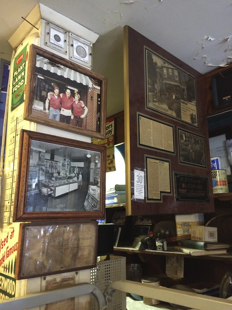 Schneider's Hardware Wyndhurst Baltimore Maryland Retro Roadmap