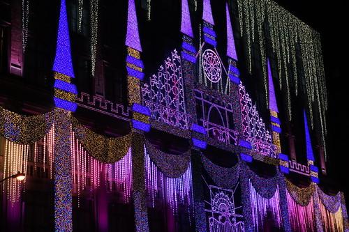 Saks Fifth Avenue Christmas Lights, New York