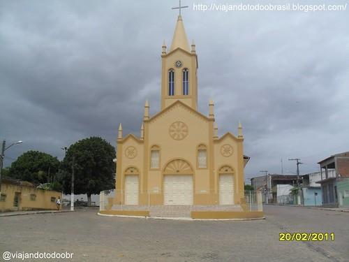 Taquarana - Igreja de Santa Cruz