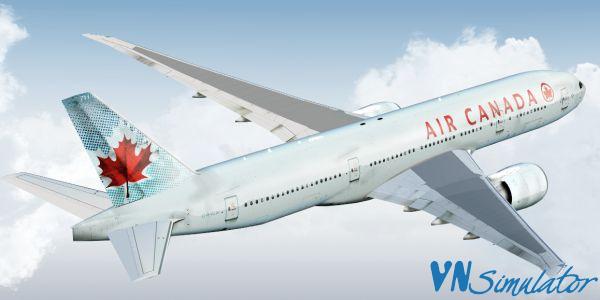 FSX/P3D - Livery PMDG 777-200LR Air Canada   Viet Nam