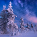 Winter mountain by Paatus