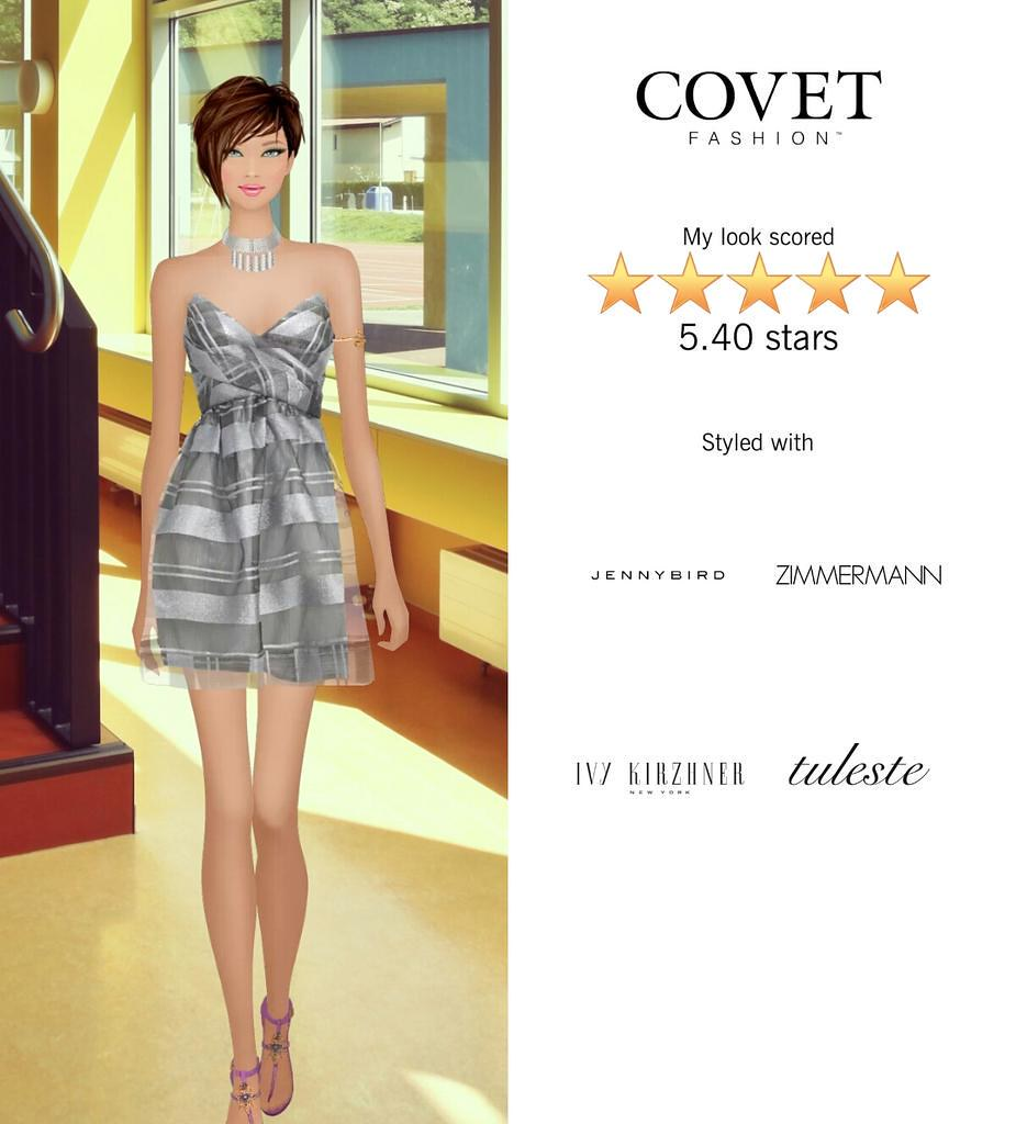 My Look Scored Stars In The Opening Of A Museum Exhibit Challenge In Covet Fashion Http T