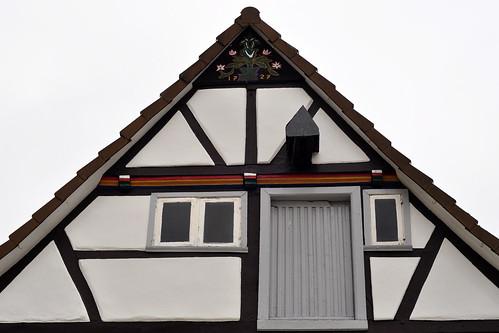 Soest Nordrhein-Westfalen Fachwerk Fachwerkhaus Architektur Sehenswürigkeiten Juni 2015 Foto Brigitte Stolle