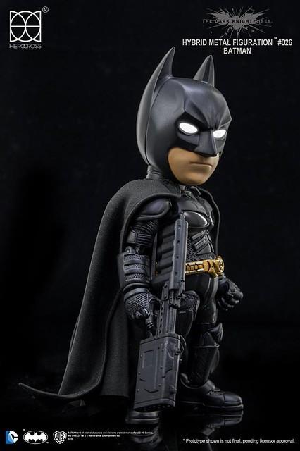 HEROCROSS【黑暗騎士 蝙蝠俠】Batman 高譚市的壞人有福了!!這個蝙蝠俠看起來很好欺負!!
