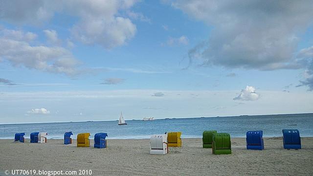 Strand, Halligen, Fähre