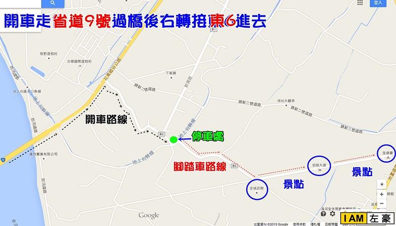 台東-伯朗地圖