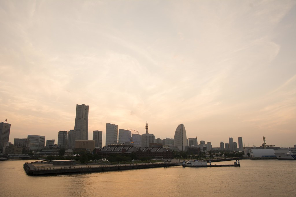 2015.07.11 Sunset at Yokohama (夕景 - 横浜)