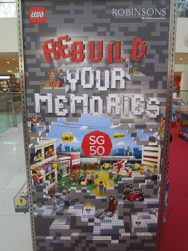 LEGO Rebuild Your Memories Poster