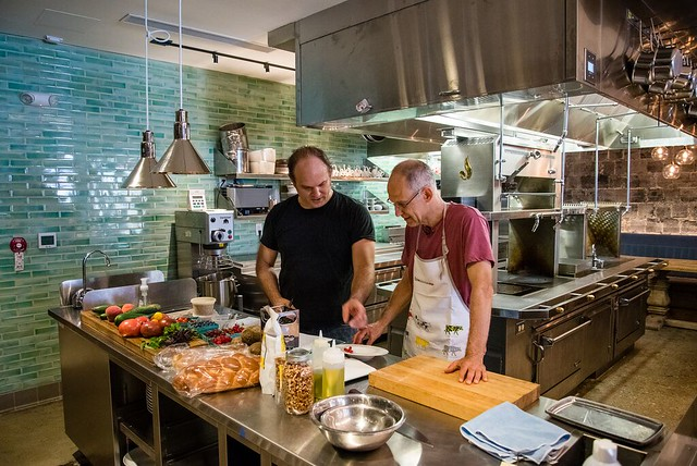 Zeke Emanuel at Union Market by Travis Vaughn