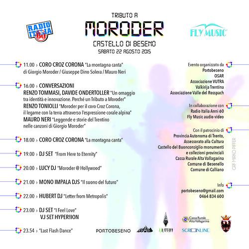 TRIBUTO A MORODER > 22 agosto 2015