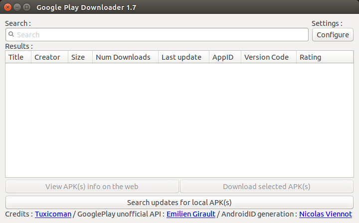 How to download apk files from Google Play Store on Linux