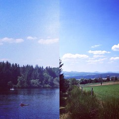Mon petit bonheur des vacances : 26 km à vélo avec pour pause au milieu, la baignade dans l'eau fraîche du lac de Devesset : effort et réconfort ! Je ne m'en lasse pas... 😎🗻 #HauteLoire #Ardèche #Auvergne #RhôneAlpes #HautLignon #Hau