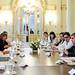 """Reunión en Gobierno por tema """"Trata"""", 16 de enero."""