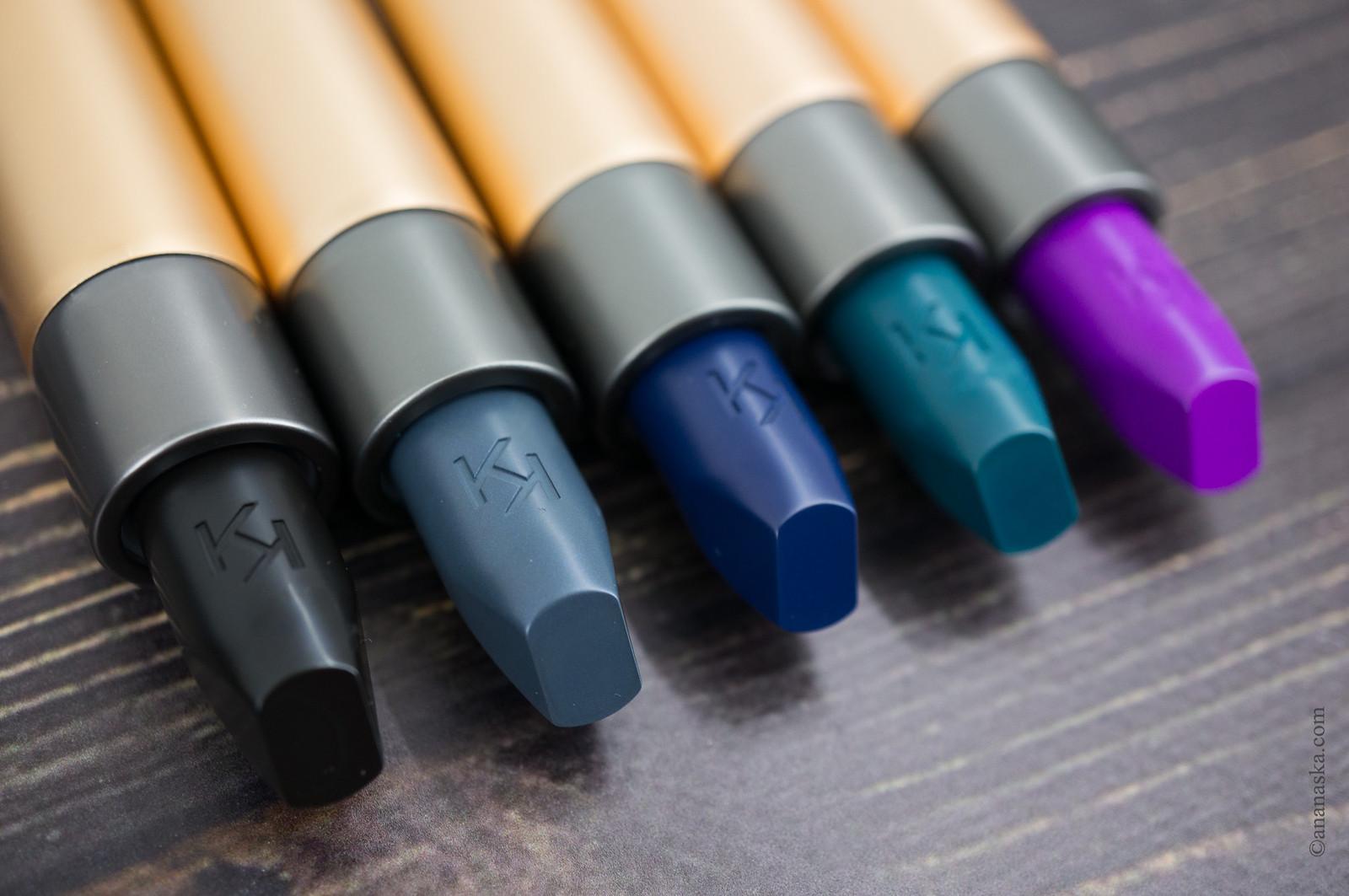 Kiko Milano Velvet Passion Matte Lipstick Crazy Colours