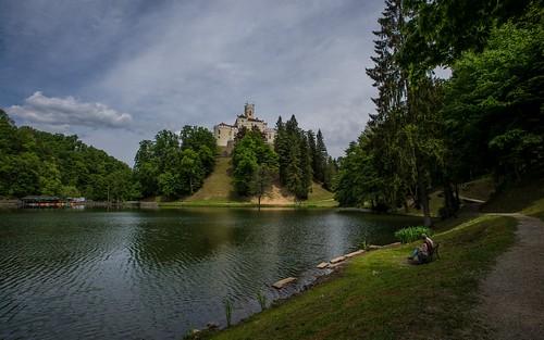 castles lakes trakošćan nikkor173528 lakecastle nikond600 castletrakošćan laketrakošćan castleschurches