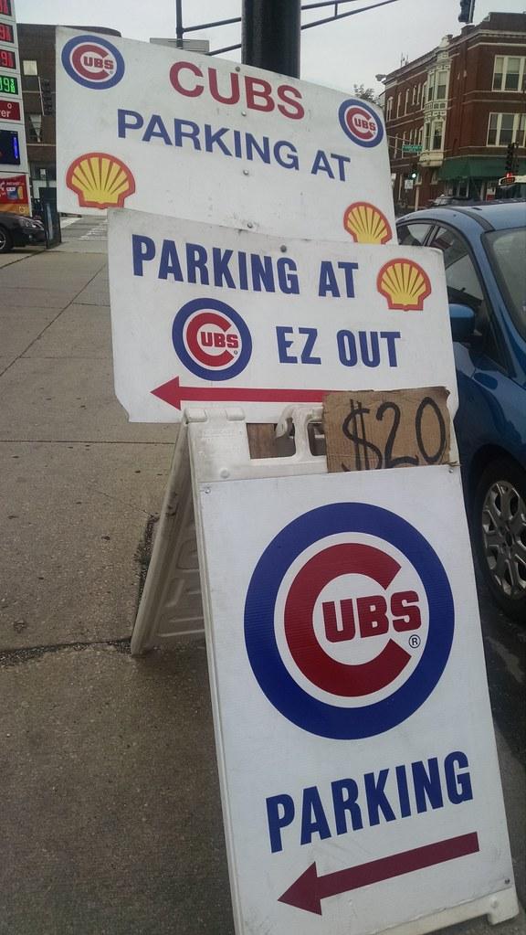Cubs Parking